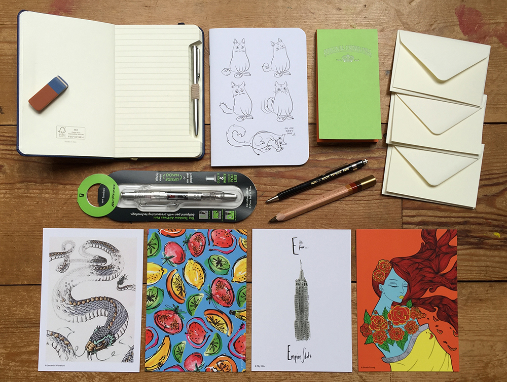In Your Pocket stationery collection