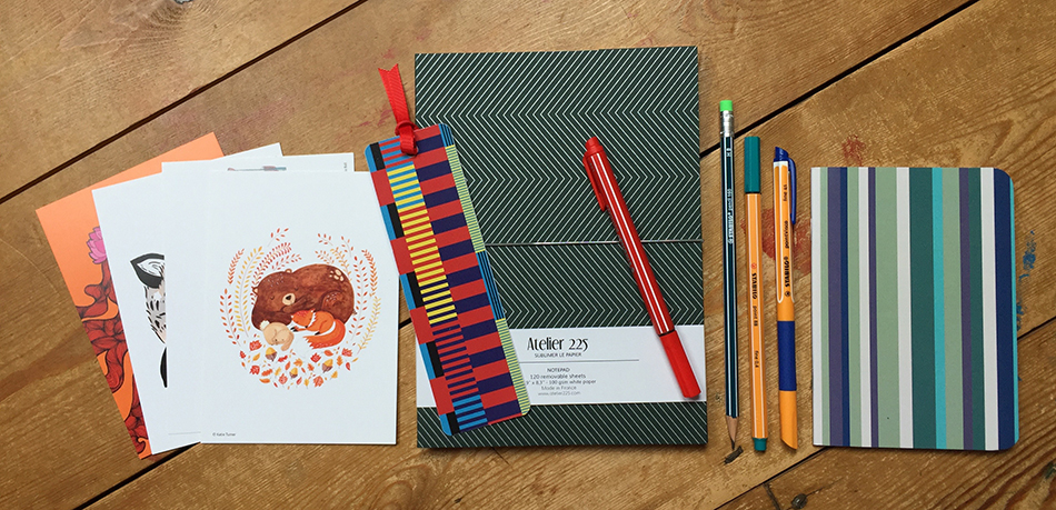Parallel Lines stationery