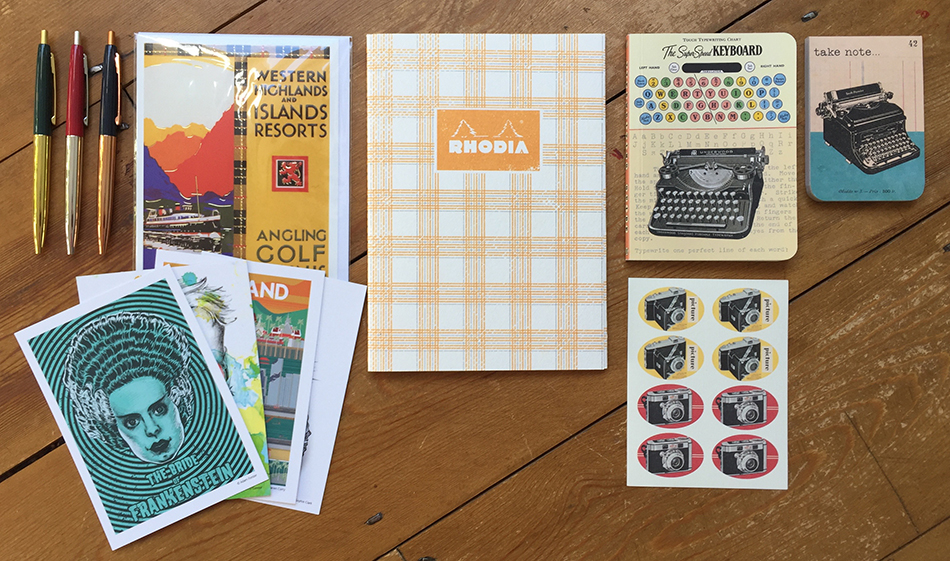 Retro stationery
