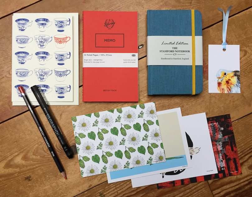 English Classics stationery collection