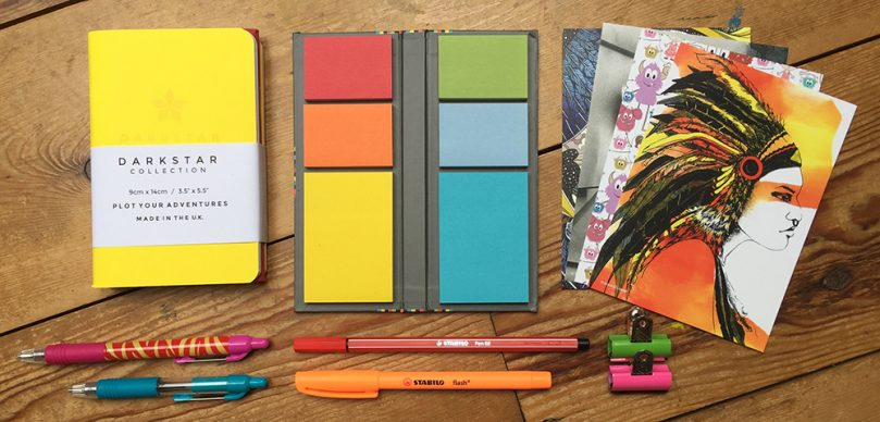 Bright stationery collection