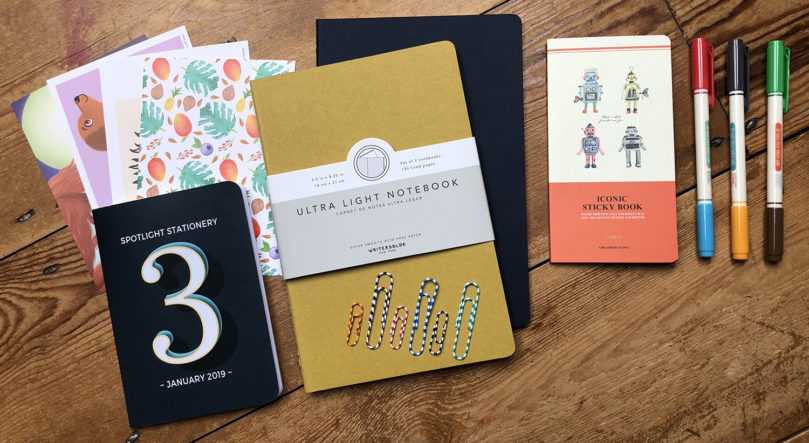 "Stationery subscription box - ""Three"""