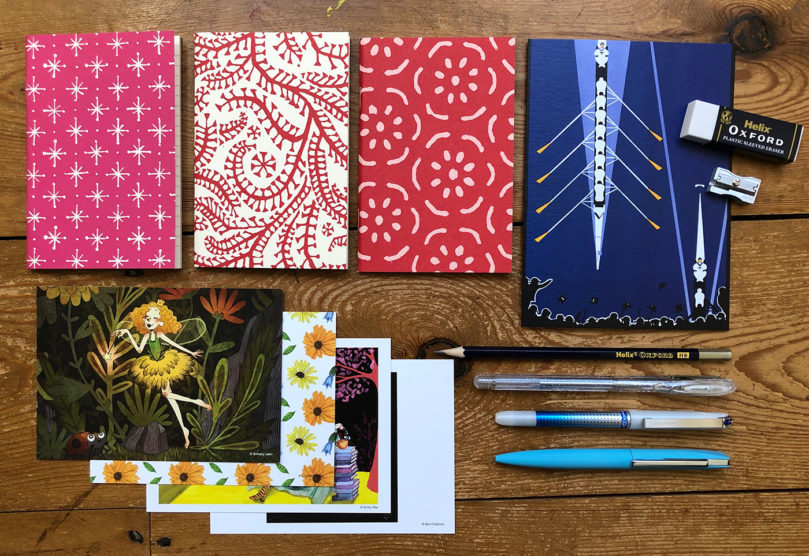 Varsity stationery collection from Spotlight Stationery.