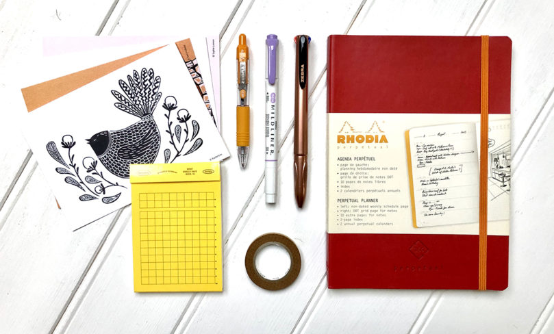 """Planning"" stationery subscription box"