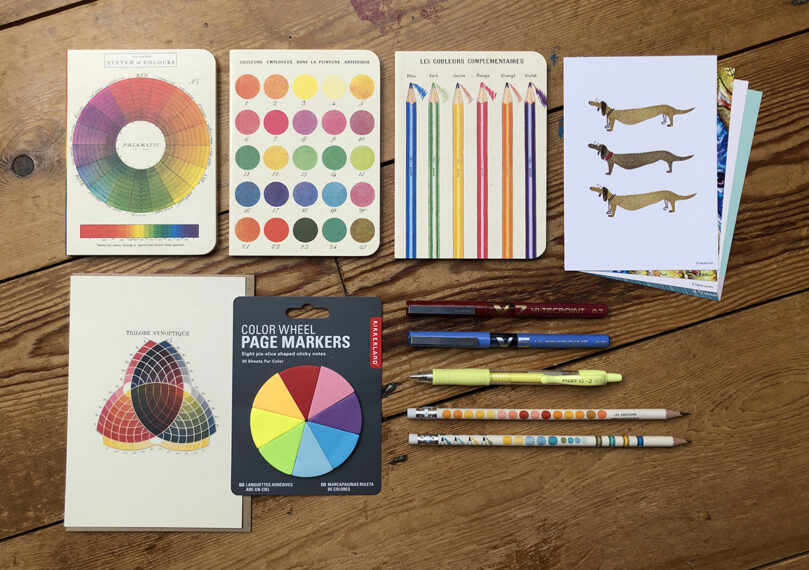 "Spotlight Stationery ""The Colour Wheel"" collection"