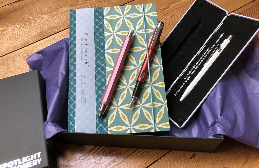 Bindewerk journal stationery gift set