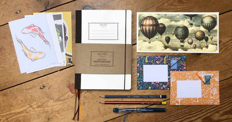 'Introducing' stationery collection