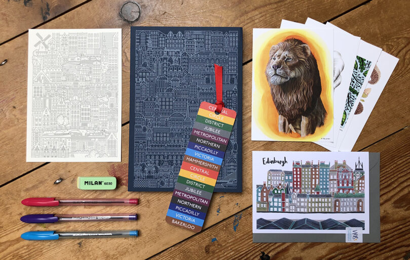 European Cities stationery collection