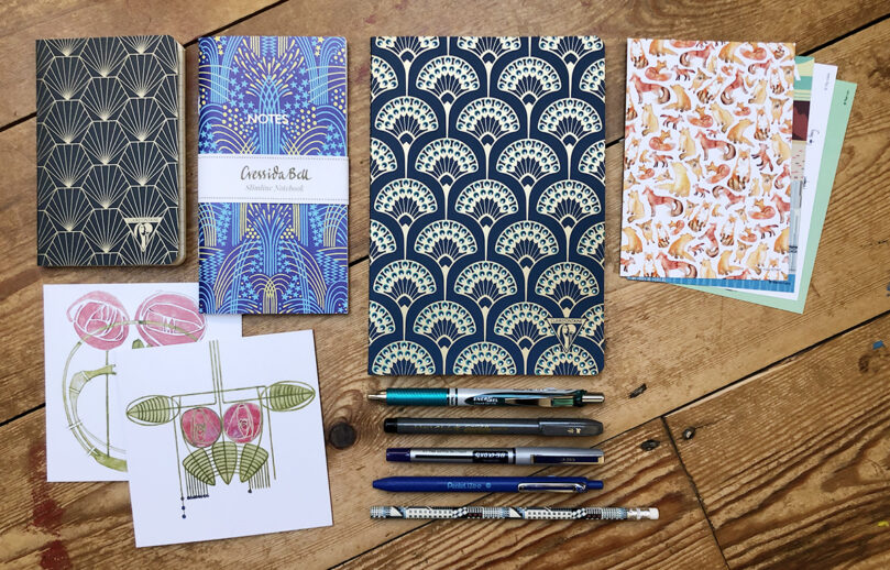 Nouveau Deco stationery collection