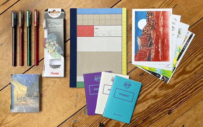 """Showcase 3"" stationery subscription box"